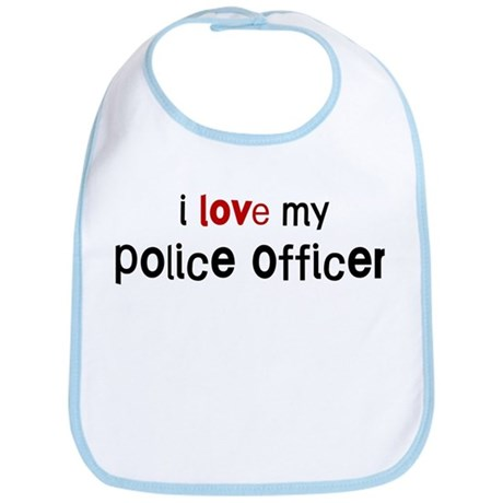 I love my Police Officer Bib