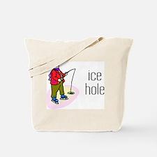 Ice Hole Tote Bag
