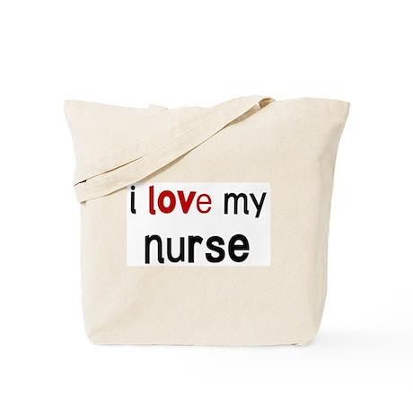 I love my Nurse Tote Bag