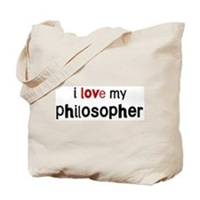 I love my Philosopher Tote Bag