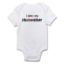 I love my Philosopher Infant Bodysuit