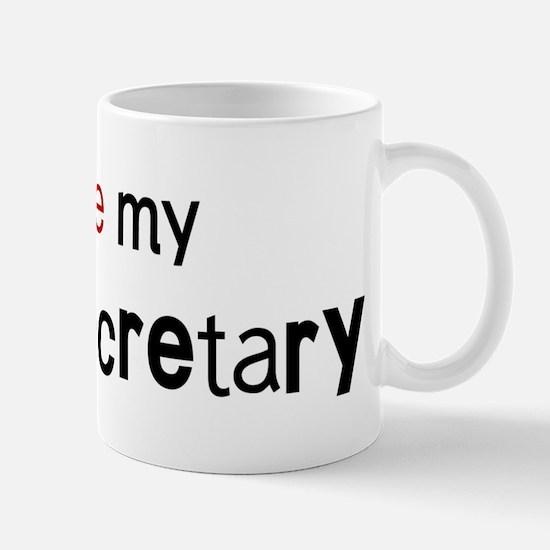 I love my Legal Secretary Mug