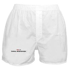 I love my Forensic Anthropolo Boxer Shorts