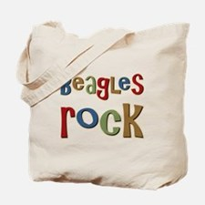 Beagles Rock Dog Owner Lover Tote Bag