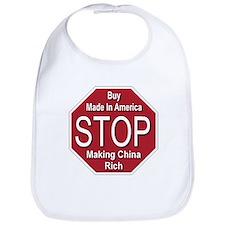 STOP Making China Rich Bib