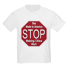 STOP Making China Rich T-Shirt