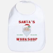 Santa's Workshop Bib