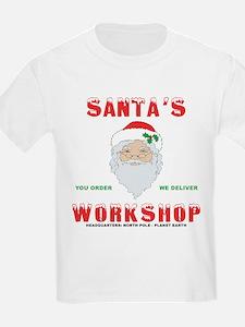 Santa's Workshop Kids T-Shirt