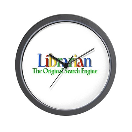Librarian - Original Search Engine Wall Clock