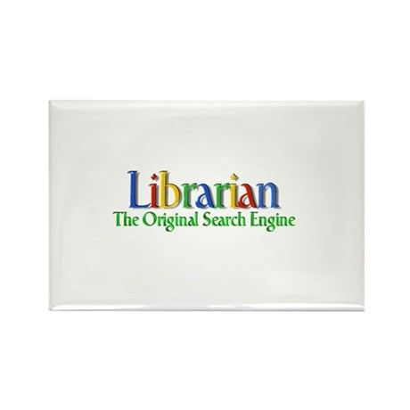 Librarian - Original Search Engine Rectangle Magne