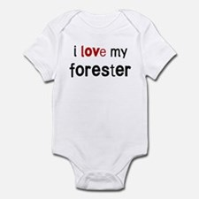 I love my Forester Infant Bodysuit