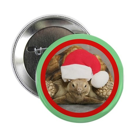 """Tortoise, round image 2.25"""" Button"""