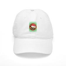 Tortoise, round image Baseball Cap