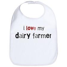 I love my Dairy Farmer Bib