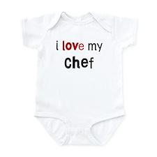 I love my Chef Infant Bodysuit