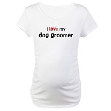 I love my Dog Groomer Shirt