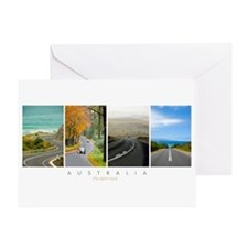 Australian Roads Greeting Card