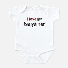 I love my Babysitter Onesie