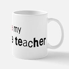 I love my Agriculture Teacher Mug