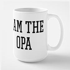 I am the Opa Large Mug