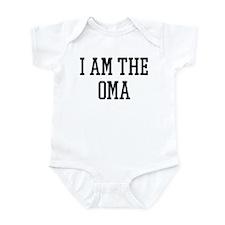 I am the Oma Infant Bodysuit