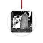 Child Angel Keepsake Ornament (Round)