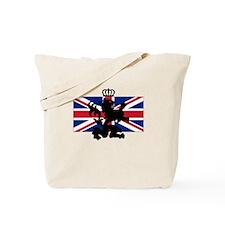 Union Jack & Lion Tote Bag