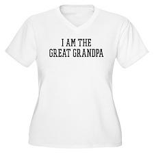 I am the Great Grandpa T-Shirt