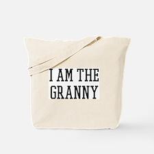 I am the Granny Tote Bag
