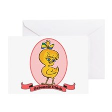 Gabonese Chick Greeting Card