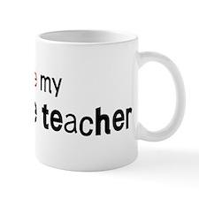 I love my 11th Grade Teacher Mug