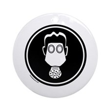 GAS MASK Ornament (Round)