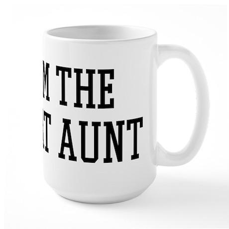 I am the Great Aunt Large Mug