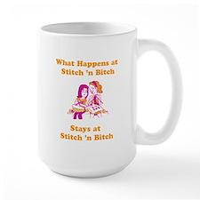 What Happens at Stitch 'n bit Ceramic Mugs