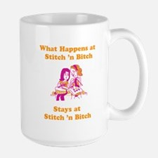 What Happens at Stitch 'n bit Mug