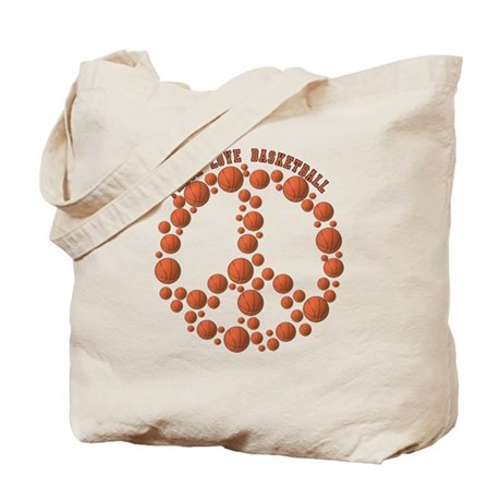 Peace Love Sports! Tote Bag