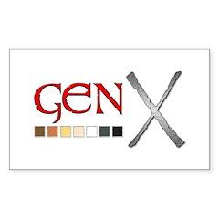Gen-X Decal