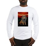 Rasta Lion Long Sleeve T-Shirt