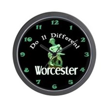 Turtleboy: Do It Different Wall Clock