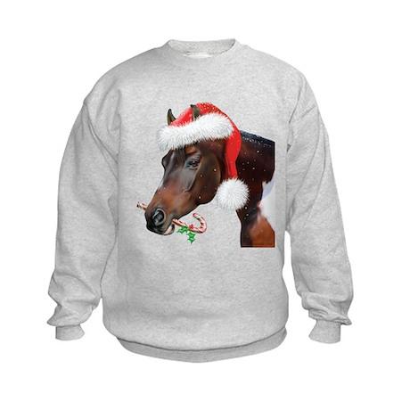 Sky King Christmas Kids Sweatshirt