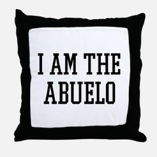 I am the Abuelo Throw Pillow