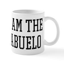 I am the Abuelo Small Mug