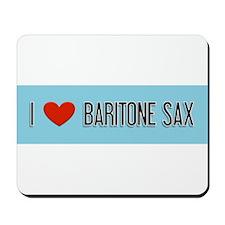 Musicolicious Baritone Saxophone Mousepad