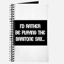 Musicolicious Baritone Saxophone Journal