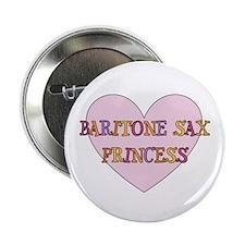 """Musicolicious Baritone Saxophone 2.25"""" Button"""
