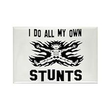 I do all my own stunts Rectangle Magnet (10 pack)