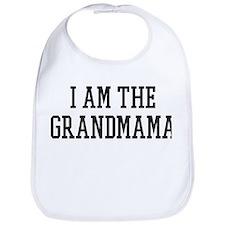I am the Grandmama Bib