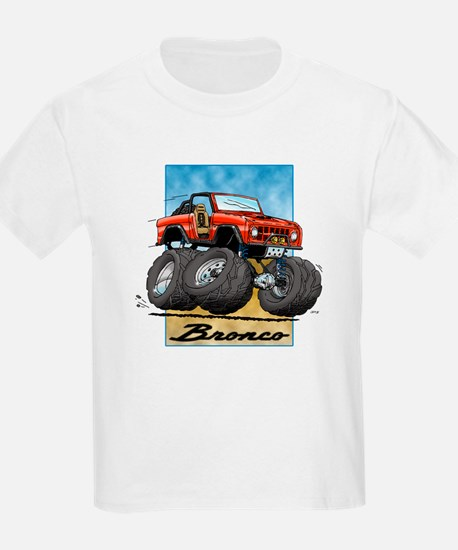 Red Early Bronco T-Shirt