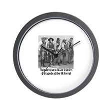 The Cowboys ath the OK Corral: The Wall Clock