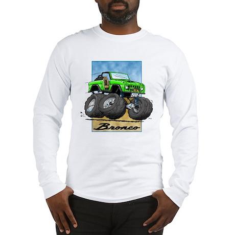 Green Early Bronco Long Sleeve T-Shirt